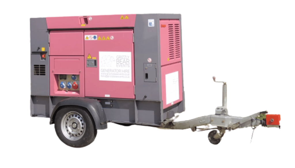 power from ultra silent generator rental