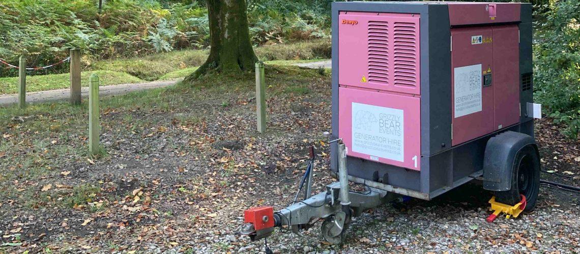 generator rental sussex